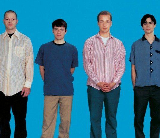 Portada del 'The Blue Album' de Weezer en 1994.