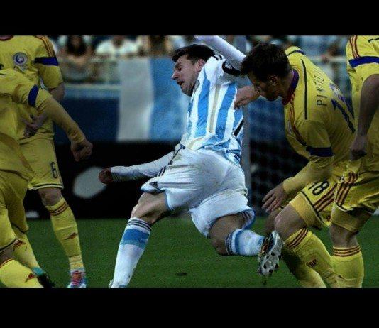 Messi en el anuncio de Adidas 'The Dream: all in or nothing