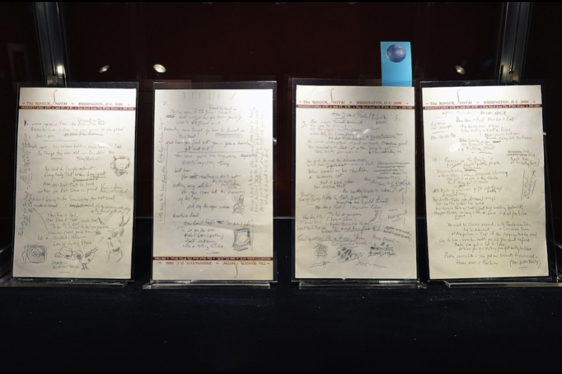 Manuscrito de 'Like a Rolling Stone' de Bob Dylan