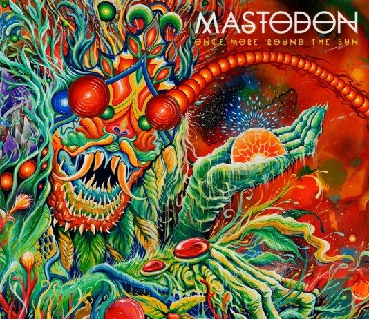 Portada de 'Once More 'Round the Sun' de Mastodon