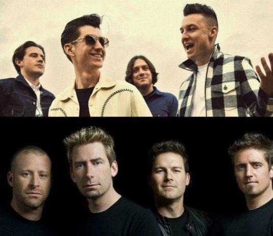Arctic Monkeys y Nickelback