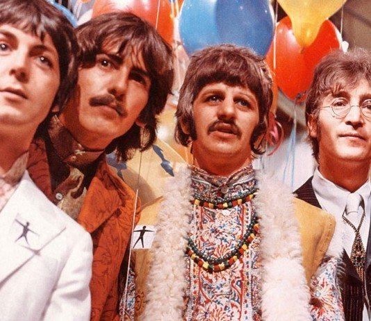 The Beatles en una fiesta
