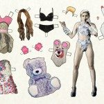 recortable de Miley Cyrus