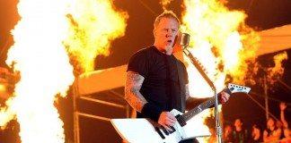 Metallica con fuego