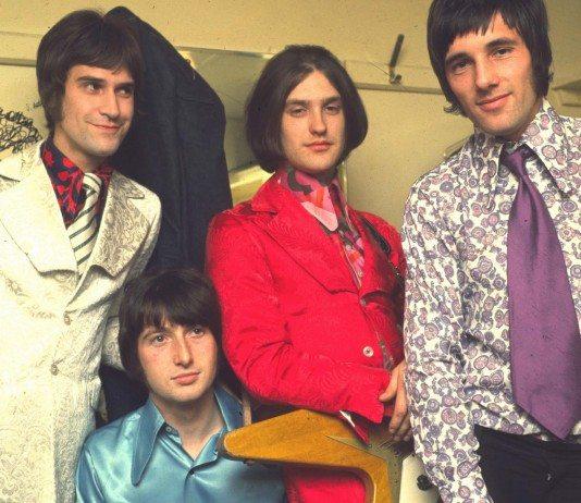 The Kinks en el camerino