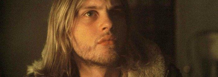 Michael Pitt vestido de Kurt Cobain.