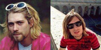 Kurt Cobain e imitador