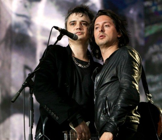 The Libertines sobre el escenario de Hyde Park.