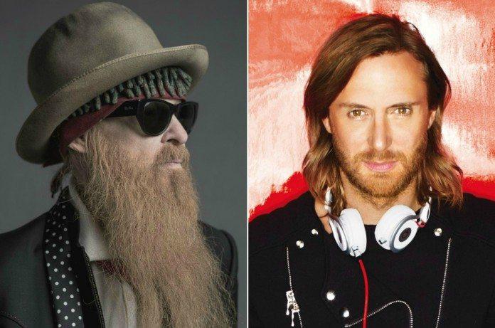 Billy Gibbons de ZZ Top y David Guetta