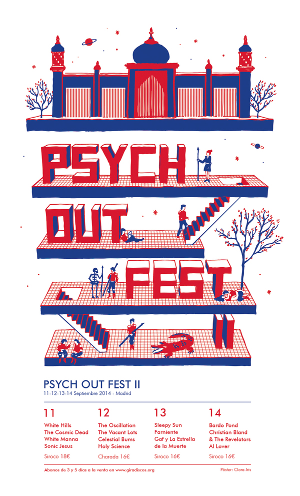 Cartel del Psych Out Fest II