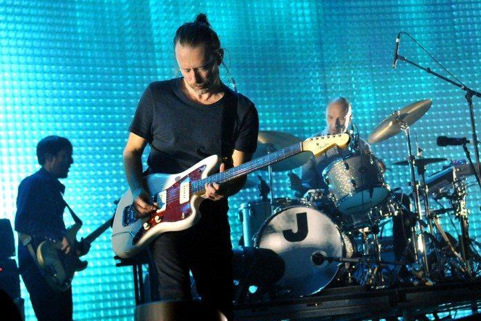 Radiohead en directo en 2014