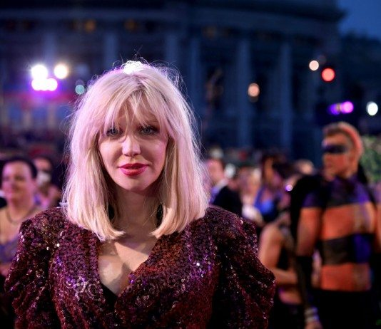 Courtney Love en el Life Ball 2014