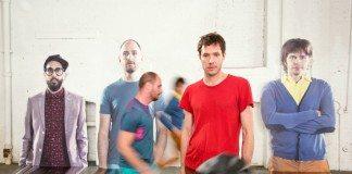 OK Go en el videoclip de 'The Writing's on the Wall'